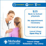 Urgent care for families on the go! :: Methodist Urgent Care centers treat both parents and children