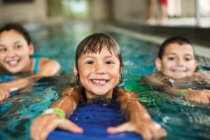 Private, semi-private and group swimming lessons are available.