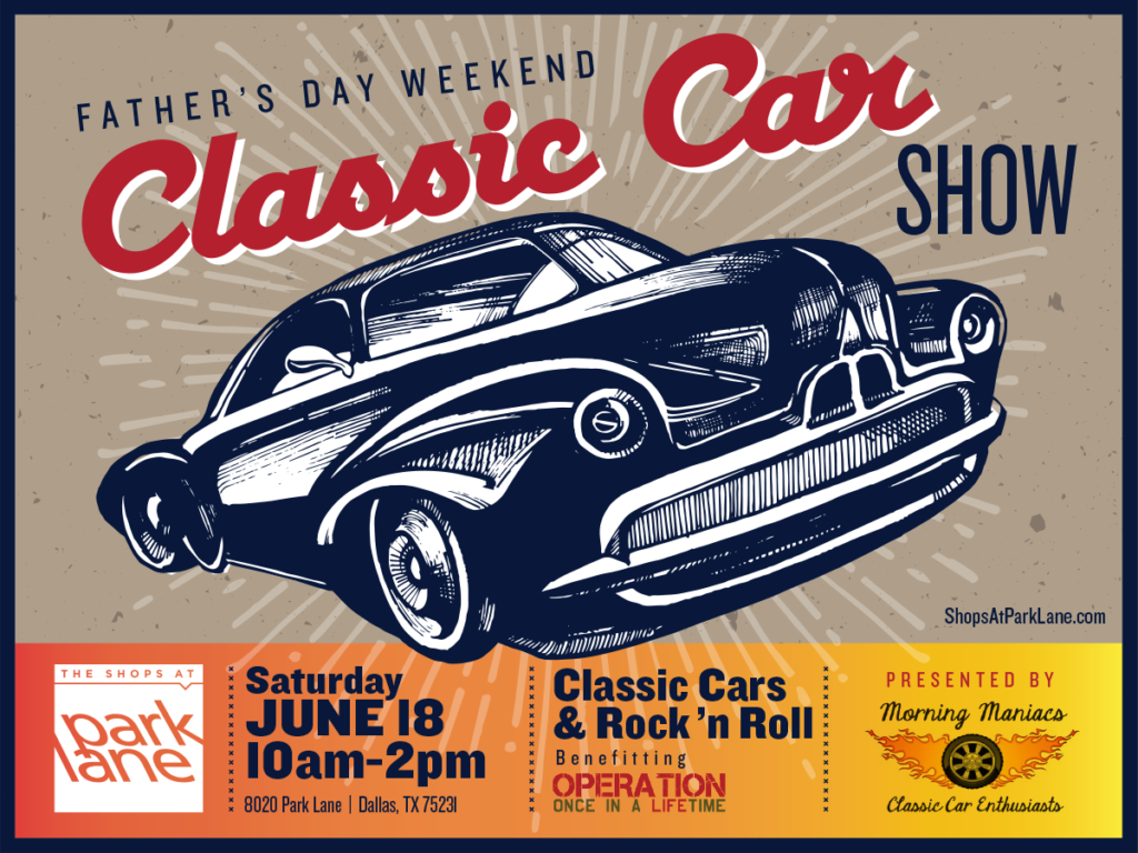 Father's Day Car Show Graphic