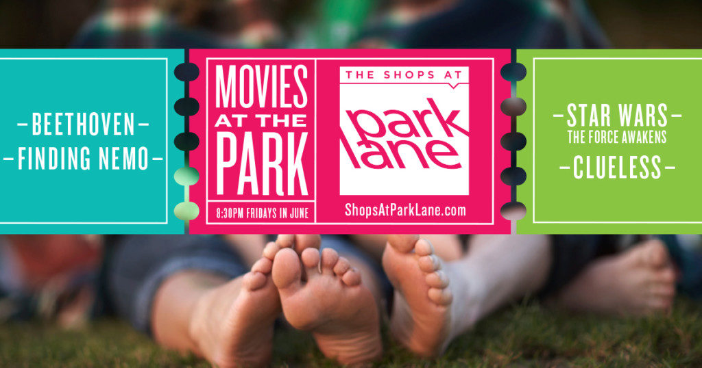Movies in The Park graphic