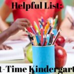 Half-Day, Part-Time, and Transitional Kindergartens in Dallas
