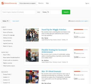 DonorsChooseorg Dallas Moms Blog 1