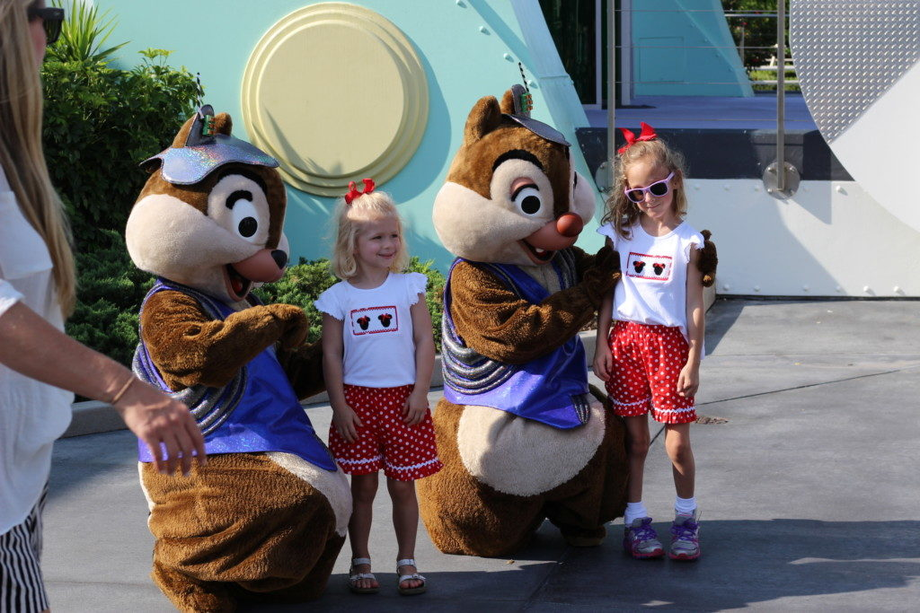 Chip and Dale at Disney World