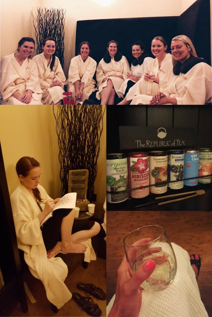 Spavia Day Spa - Dallas Moms Blog - Collage