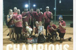 team kickball champions