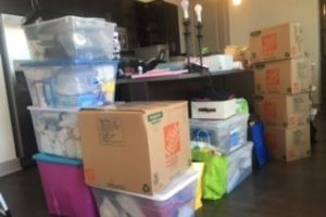 Moving with kids = too much stuff!!