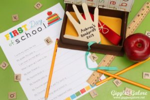 back to school time capsule image