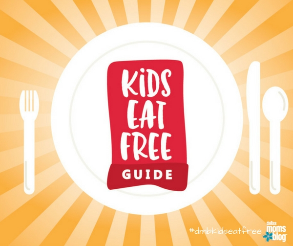 Dallas Kids Eat Free #dmbkidseatfree