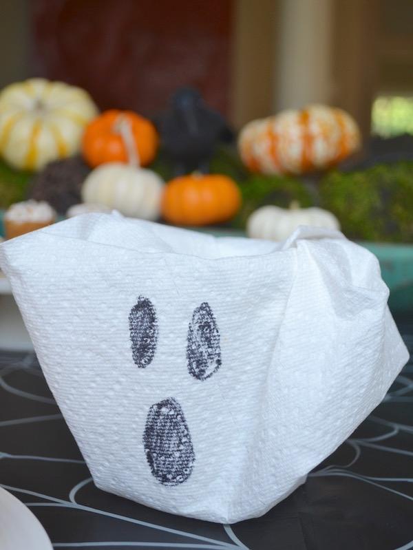 DMB - Kid Friendly Halloween Meal - Ghost