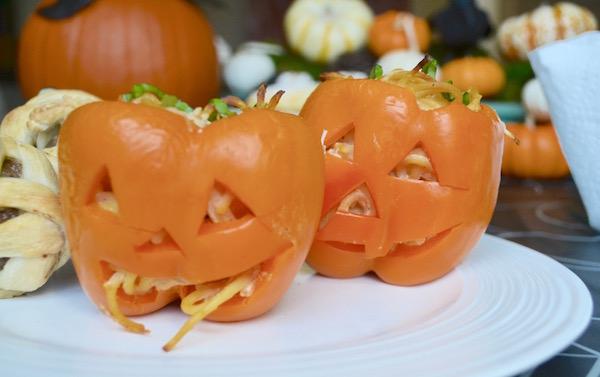 DMB - Kid Friendly Halloween Meal - JackOLanterns