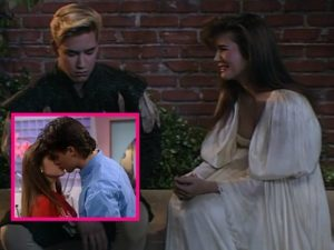 Even glamour girl Kelly Kapowski had to make some hard choices.