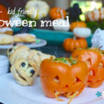 Kid Friendly Halloween Meal