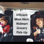 Efficient Mom Alert: Walmart Grocery Pick-Up