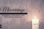 Miscarriage not trying unwanted