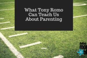 Tony Romo Parenting