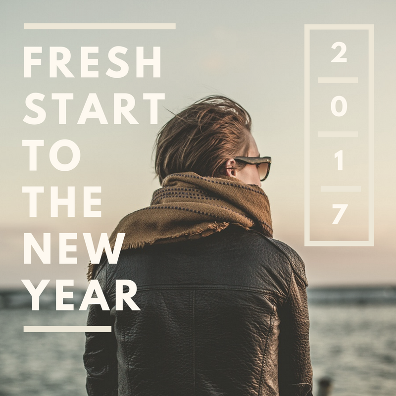 fresh start to the new year