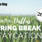 Operation: Dallas Spring Break Staycation
