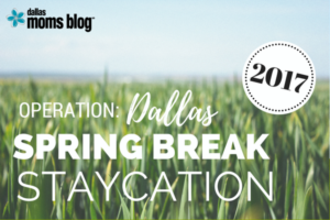 Dallas Spring Break Staycation