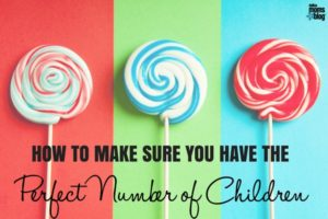Perfect Number of Children - Dallas Moms Blog