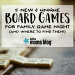 5 New Board Games for Family Game Night