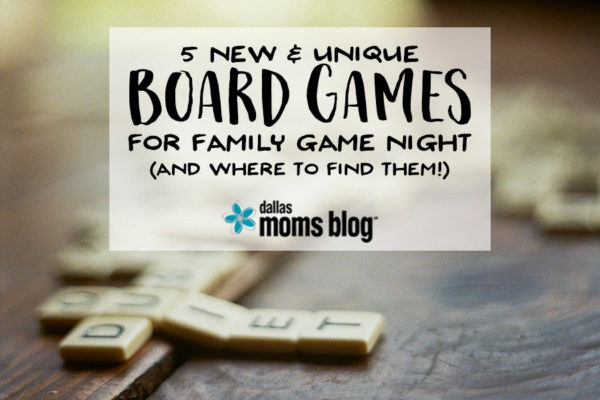 5 New Board Games for Family Game Night - Megan Harney for Dallas Moms Blog