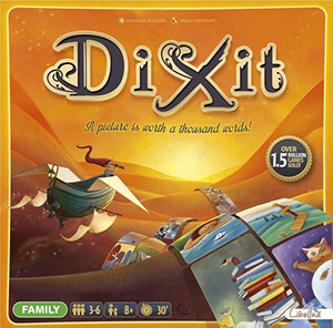 Dixit - Board Games for Family Game Night Megan Harney for Dallas Moms Blog