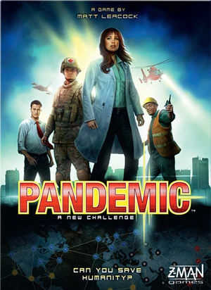 Pandemic - Board Games for Family Game Night Megan Harney for Dallas Moms Blog