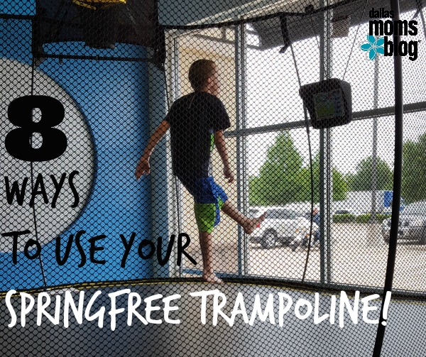 8 Ways to {Safely} Use Your Springfree Trampoline