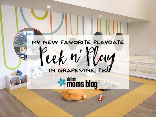 Peek n Play Grapevine - Megan Harney for Dallas Moms Blog