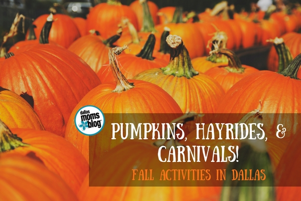 Guide to Fall Activities in Dallas - Dallas Moms Blog 2017 (Featured Image)