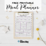 {Free} Printable Meal Planner