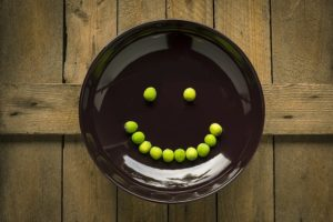 smiley plate