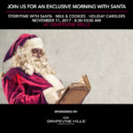 Join Us For An Exclusive Morning with Santa at Grapevine Mills
