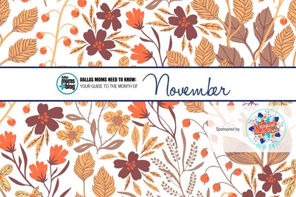 Dallas November 2017 events