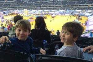 Monster Jam with toddlers