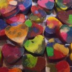 Melted Heart Crayons :: A DIY Valentine's Day Craft Idea for the Classroom