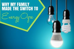 Energy Ogre - Making the Switch - Dallas Moms Blog