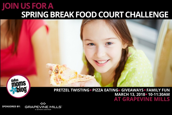 Join Dmb For A Spring Break Food Court Challenge At Grapevine Mills