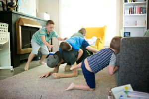 Boys Playing Rough - Dallas Moms Blog