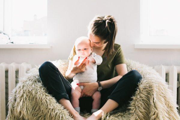 enjoying motherhood