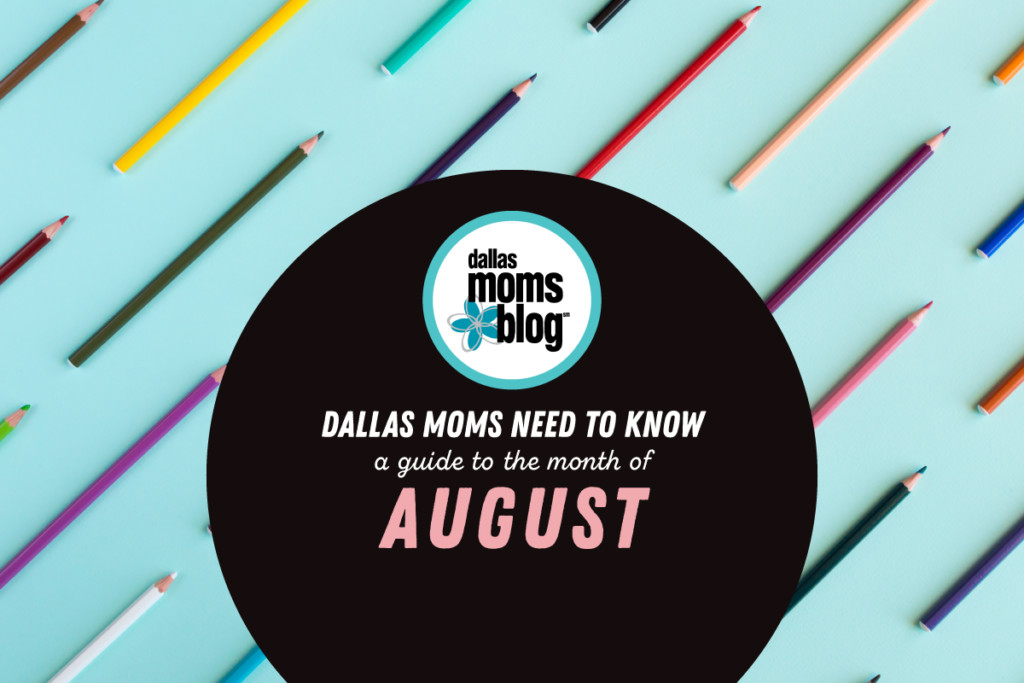 August events in Dallas kids family