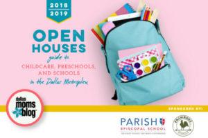 Dallas Moms Blog - Open House 2018 Guide