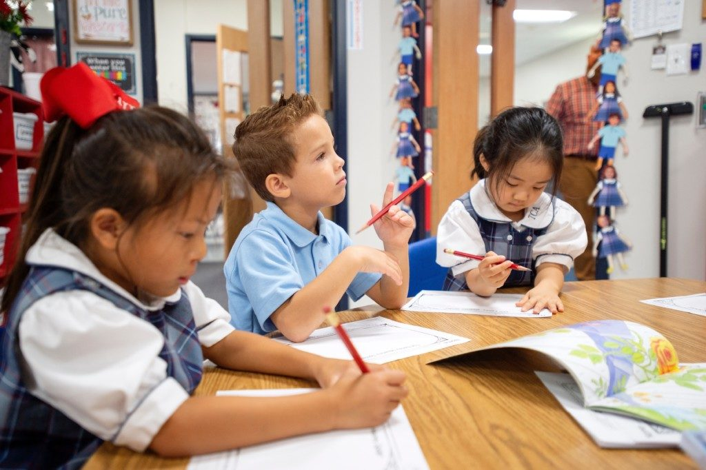 Trinity Christian Academy writing