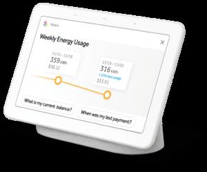 Reliant Energy Truly Free Weekends Google Home Hub