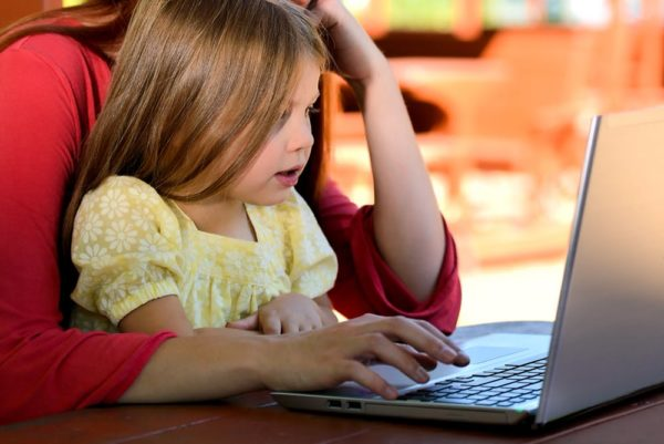 Child's online privacy