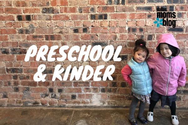preschool and kinder