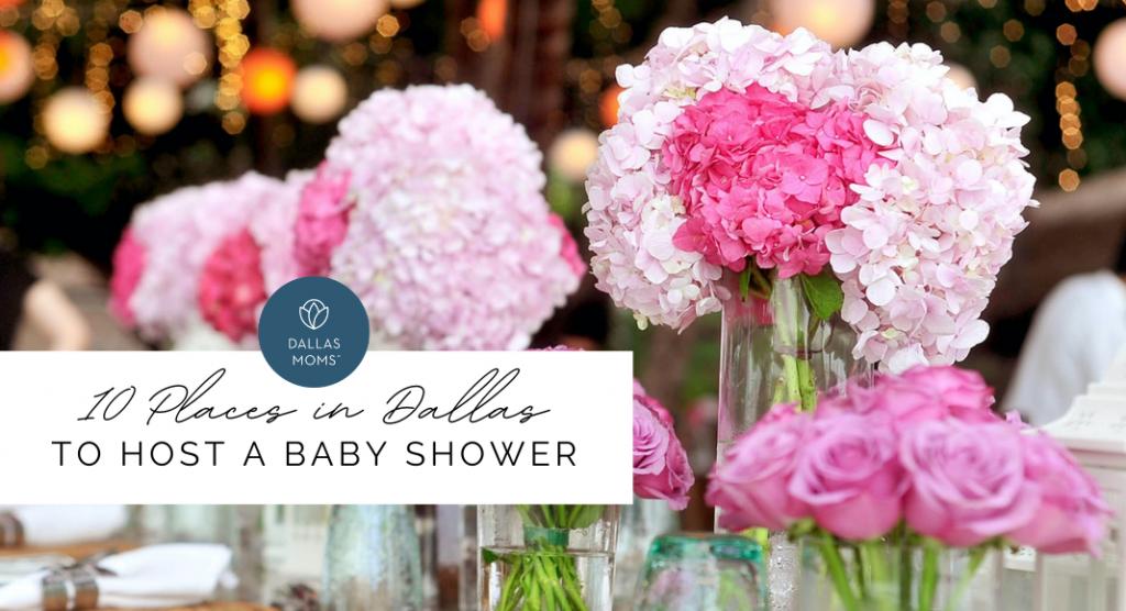 baby shower venues in Dallas