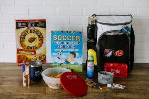 Post Cereals Soccer Mom survival kit