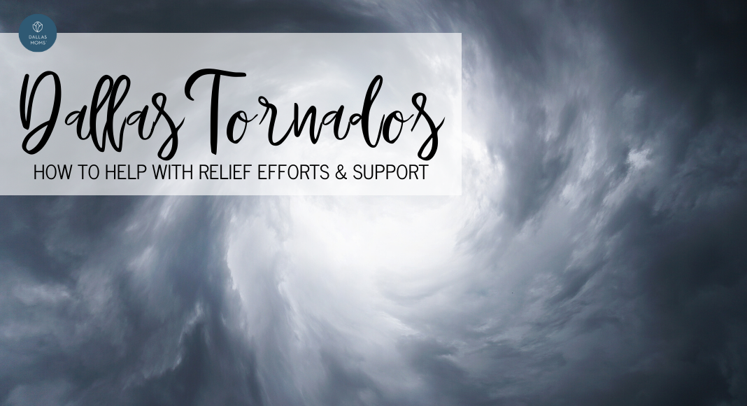 Dallas tornado relief resources ways to help