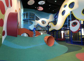 Prestonwood Kidzone indoor play area